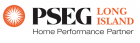 PSEG Home Performance Partner Logo, PSEG Long Island