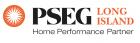 PSEG Home Performance Partner Logo, PSEG Long Island